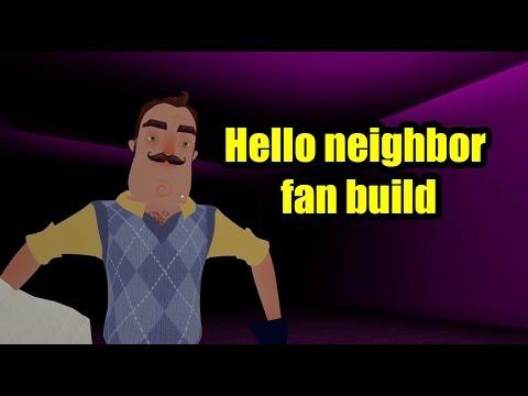 Hello neighbor fan build