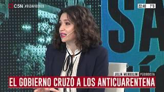Entrevista a la periodista Julia Mengolini en Desafío 2020 con Pablo Duggan