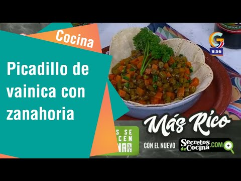 Receta de Secretos de Cocina de Unilever: Picadillo de vainica con Zanahoria