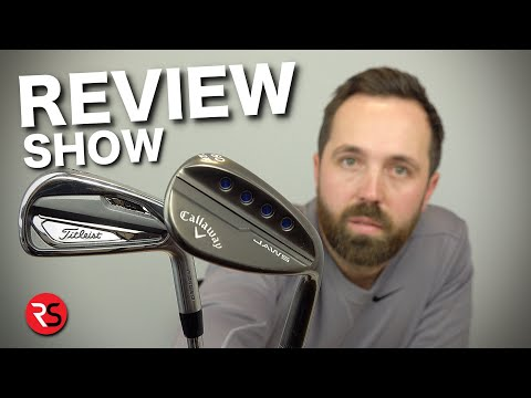 REVIEW SHOW #1: Titleist T100 irons in the bag & more......