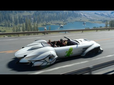 Final Fantasy XV: Fun Regalia Car Customizations