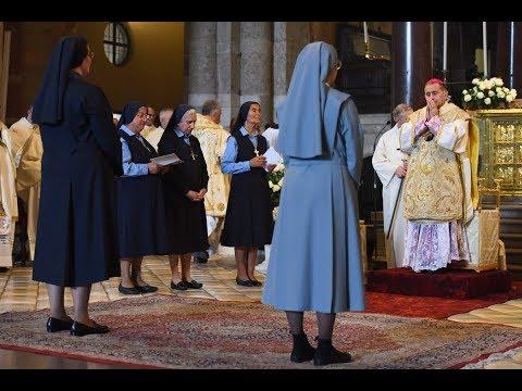 8 settembre 2019  Sant'Ambrogio la professione religiosa dei voti perpetui - omelia