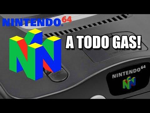 NINTENDO 64   A TODO GAS   ESPECIAL JUEGOS DE VELOCIDAD