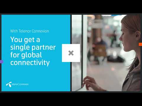 Make IoT part of your success story with Telenor Connexion