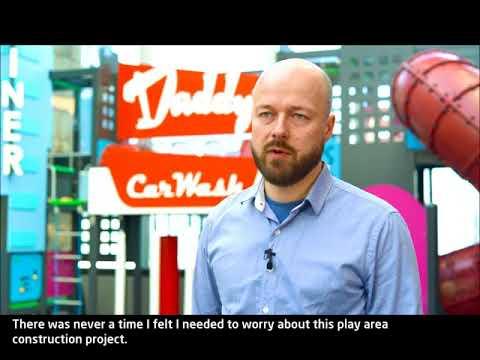 Lappset Group- Customer experience- Indoor playground
