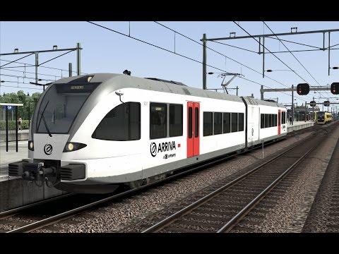 [DD] Stoptrein Zevenoord | GTW Arriva | Train Simulator 2017