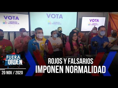 ROJOS Y FALSARIOS Y SU NORMALIDAD   Fuera de Orden   Daniel Lara Farías   FACTORES DE PODER   2 de 2