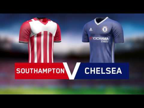 Premier League: Southampton v Chelsea - 30 October 2016