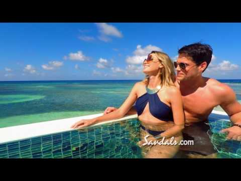 """Sandals Resorts - """"The New Over-the-Water Villa Suites"""" Commercial"""