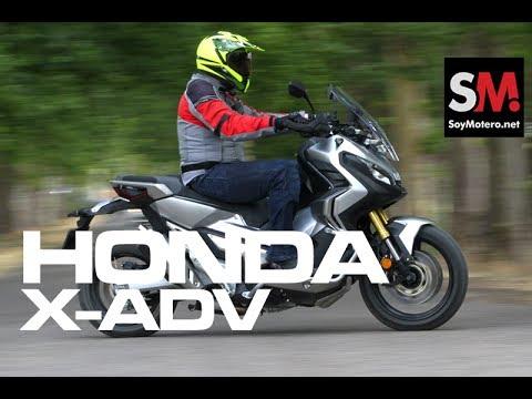 Honda X-ADV 2017: Prueba Moto Scooter Trail [FULLHD]