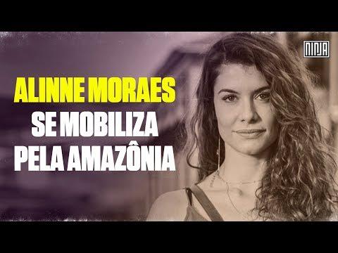 Alinne Moraes convoca todos à irem para as ruas em defesa da Amazônia