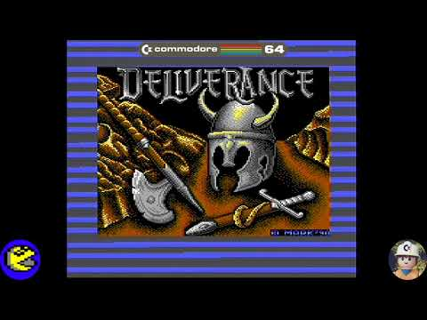 Deliverance: Stormlord 2 loader, Commodore 64 - Real por S-Video
