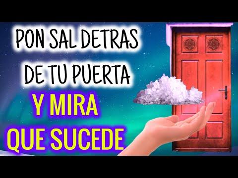 PON SAL DETRÁS DE LA PUERTA DE TU HOGAR! Y MIRA QUE SUCEDE! NO PODRÁS CREER
