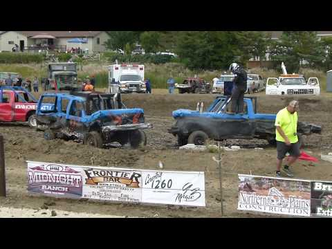 Winner Demolition Derby 2018 Trucks!