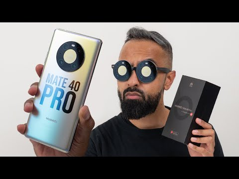 Huawei Mate 40 Pro UNBOXING