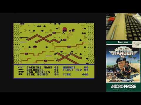 Airborne Ranger - Parte 2 - Serie de Juegos Épicos en Commodore 64 real