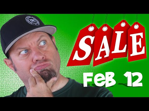 Ham Radio Shopping Deals for February 12th