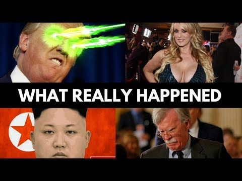 The Real Reason Why Peace Talks Are Cancelled! More Important Than Stormy Daniels!