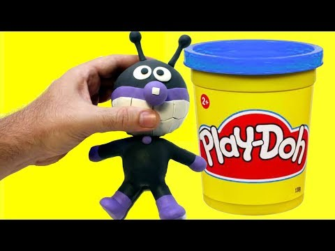connectYoutube - BAIKIMAN stop motion animation made with Play doh clay - Anpanman character