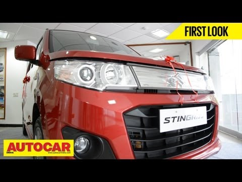 Maruti Suzuki WagonR Stingray | Quick Look Video