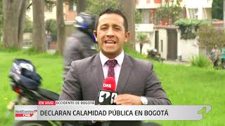 Alcaldesa Claudia López declara calamidad pública en Bogotá