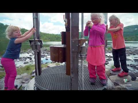 Vandre i Telemark på Vasseventyret på Haukeli