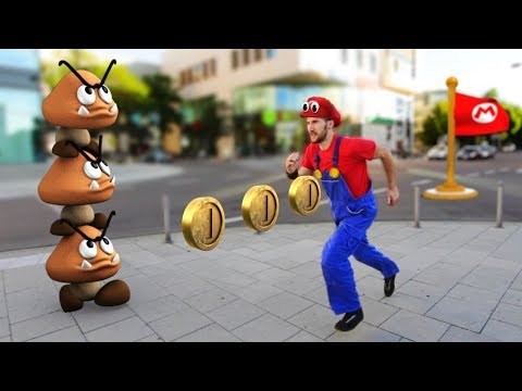 connectYoutube - Super Mario Odyssey In Real Life