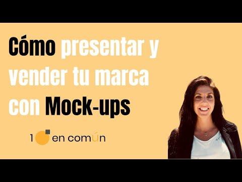 ✅  Cómo presentar y vender tu marca con MOCK UPS ⚡