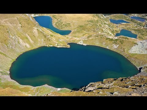 7 Rila Lakes & Rila Monastery, Bulgaria in 4K Ultra HD