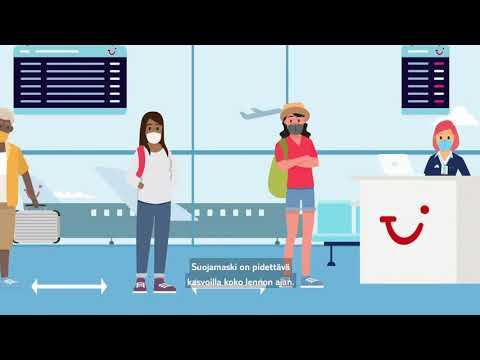 Tervetuloa takaisin - uudet käytännöt TUIn lennoille