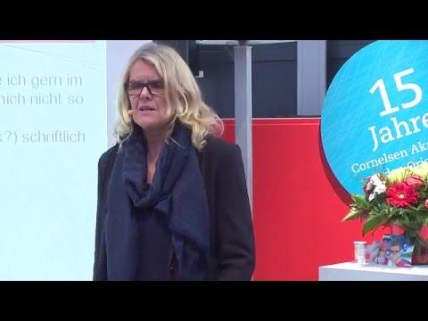 Gesundheitsmanagement in der Schule - Vortrag mit Helen Hannerfeldt von der Cornelsen Akademie
