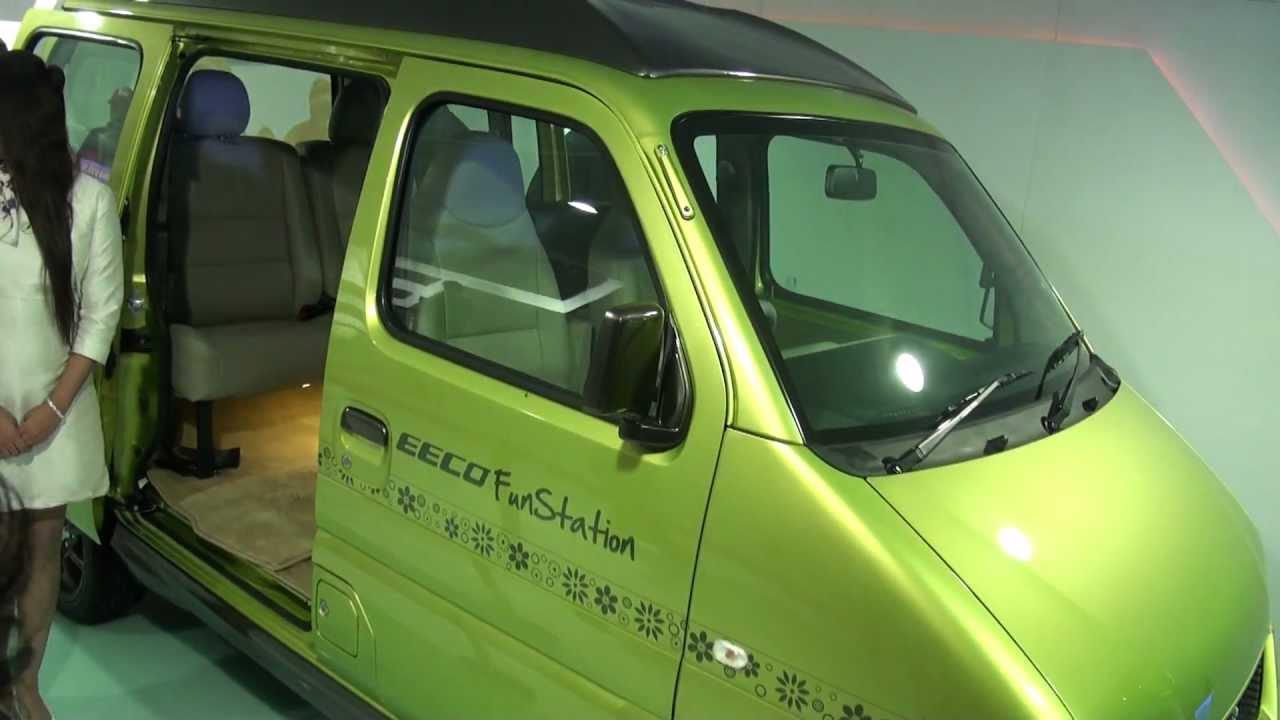 मारुति ईको - ऑटो expo 2012