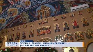 """Biserica """"Sfantul Antonie cel Mare"""" si-a sarbatorit hramul"""