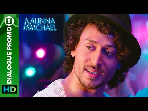 Munna Michael Dialogue - Promo 6: Tiger Shroff doesn't need a stage to Dance!