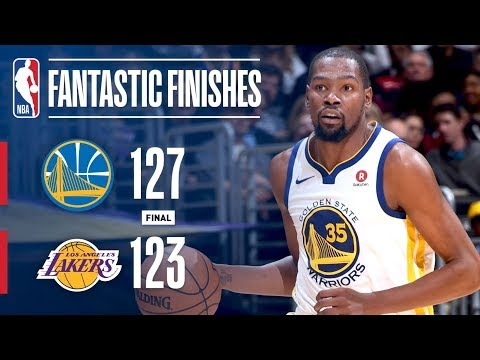 Overtime Thriller Between Warriors and Lakers in L.A.! | November 29, 2017