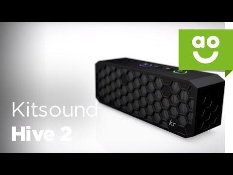 Kitsound Hive 2 Portable Wireless Speaker | ao.com
