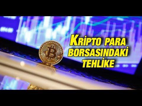 Kripto para borsasındaki tehlike