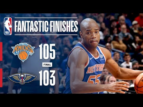 The Knicks and Pelicans Engage in a Fantastic Finish | December 30, 2017