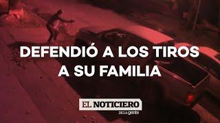 DEFENDIÓ A SU FAMILIA A LOS TIROS - El Noti de la Gente