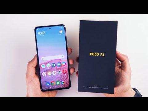 Xiaomi Poco F3 (Český unboxing od XM.cz)