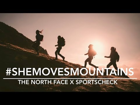 #shemovesmountains The North Face x SportScheck