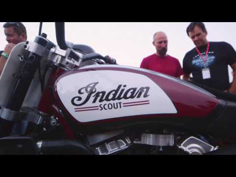 Indian Scout FTR750 Dirt-Track Racer Hits the Track - EXCLUSIVE TEST