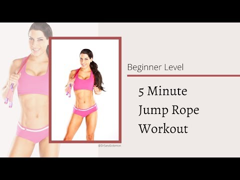 5 Minute Beginner Jump Rope Workout