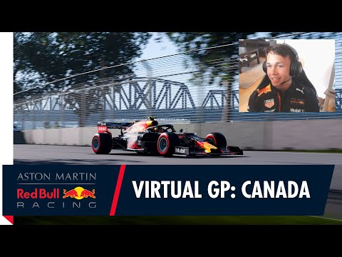 Alex Albon teams up with Jon Olsson for the Canadian F1 Virtual Grand Prix