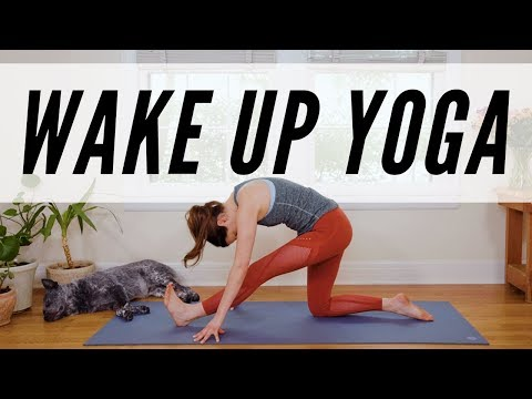 Wake Up Yoga  -  11 Minute Morning Yoga Practice -  Yoga With Adriene