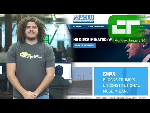 Tech Execs Are Matching Donations to ACLU | Crunch Report
