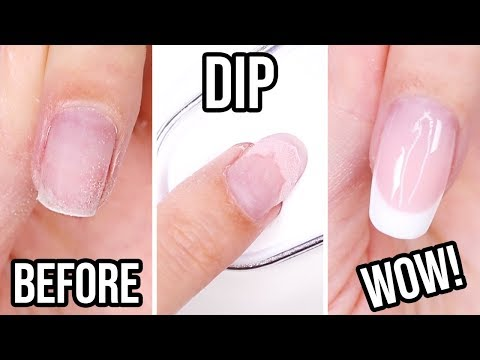 DIY Dip Powder French Manicure!