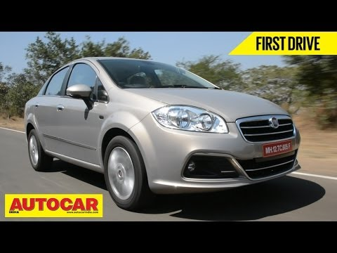 2014 Fiat Linea Facelift | First Drive Video Review