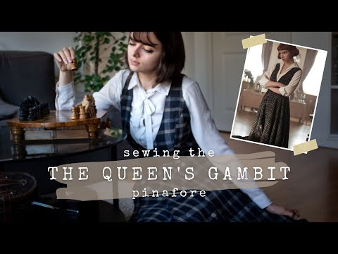The Queen's Gambit Pinafore ♟ Sew With Me