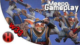 BBC.w33 7272 MMR Meepo Gameplay Dota 2
